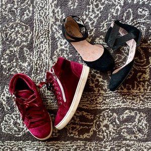2 Shoe bundle: girls size 2